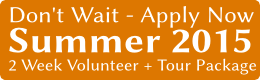 Volunteer in Thailand - Summer 2015